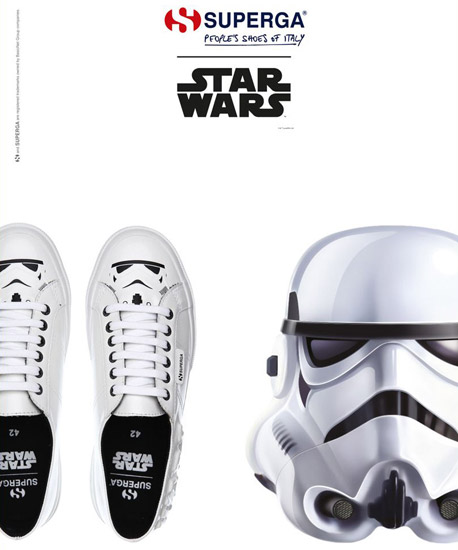 zapatillas soldados imperiales Superga Star Wars
