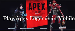 how to play apex legends in mobile