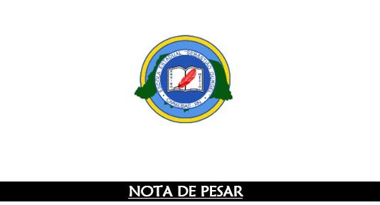 Nota de Pesar da Escola Estadual Sebastião Gurgel pelo falecimento do repórter Francileno Góis