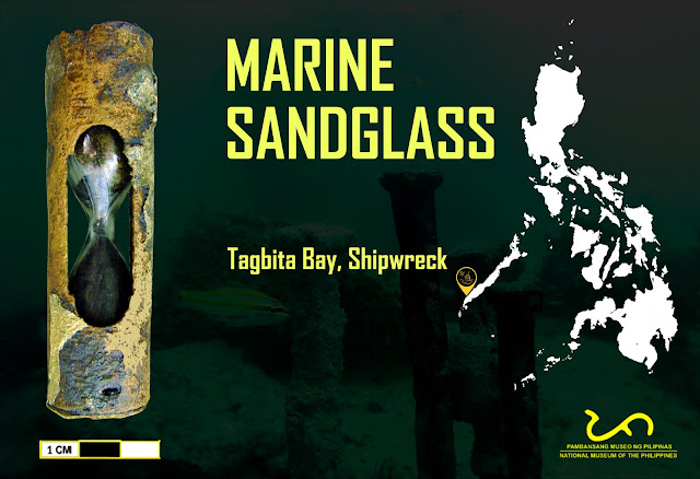 Marine Sandglass or Hourglass From the Tagbita Bay Shipwreck