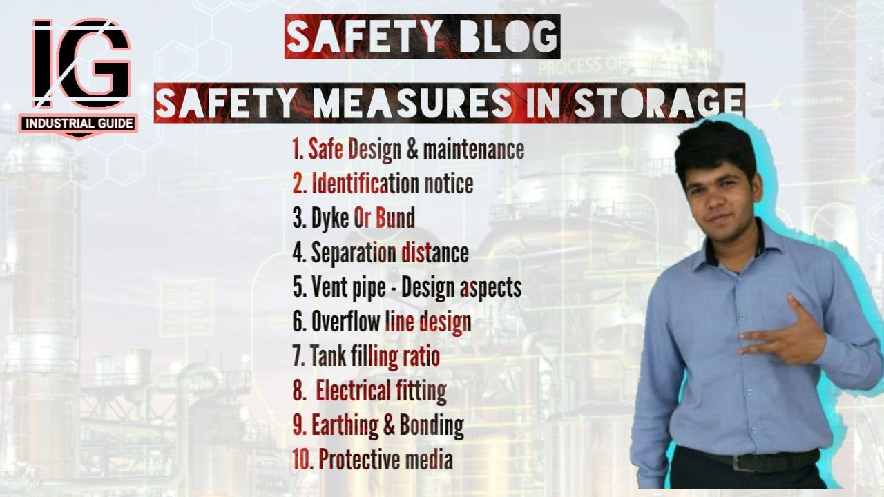 Chemical safety measures in storage | Safety blog