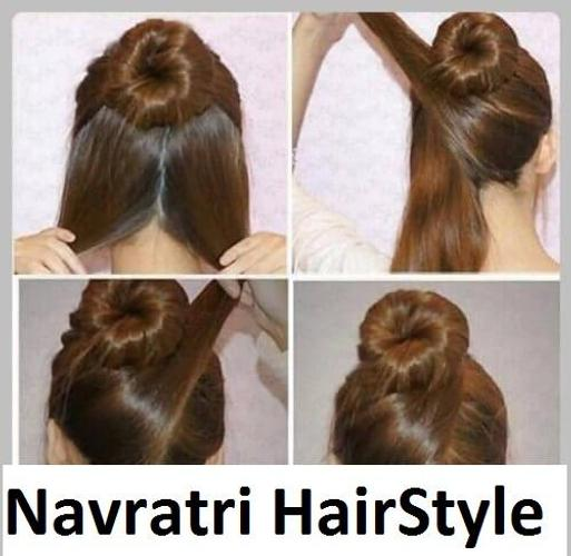 Hair Makeup For Navratri In Hind
