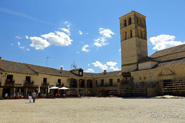 Plaza Mayor de Pedraza