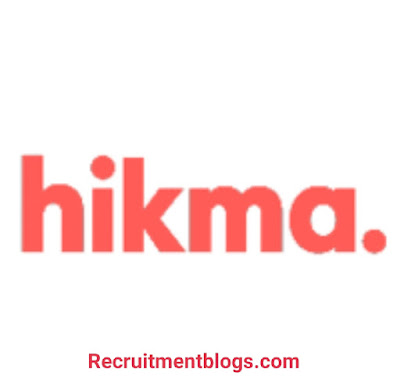 Medical Representative At Hikma Pharmaceuticals| Pharmacy, Science, Veterinary medicine Vacancies |0 to 2 years of experience