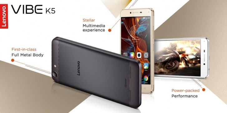 Lenovo Today Launched Vibe K5 A Budget Smartphone In Indian Market The Device Was Announced Earlier This Year February