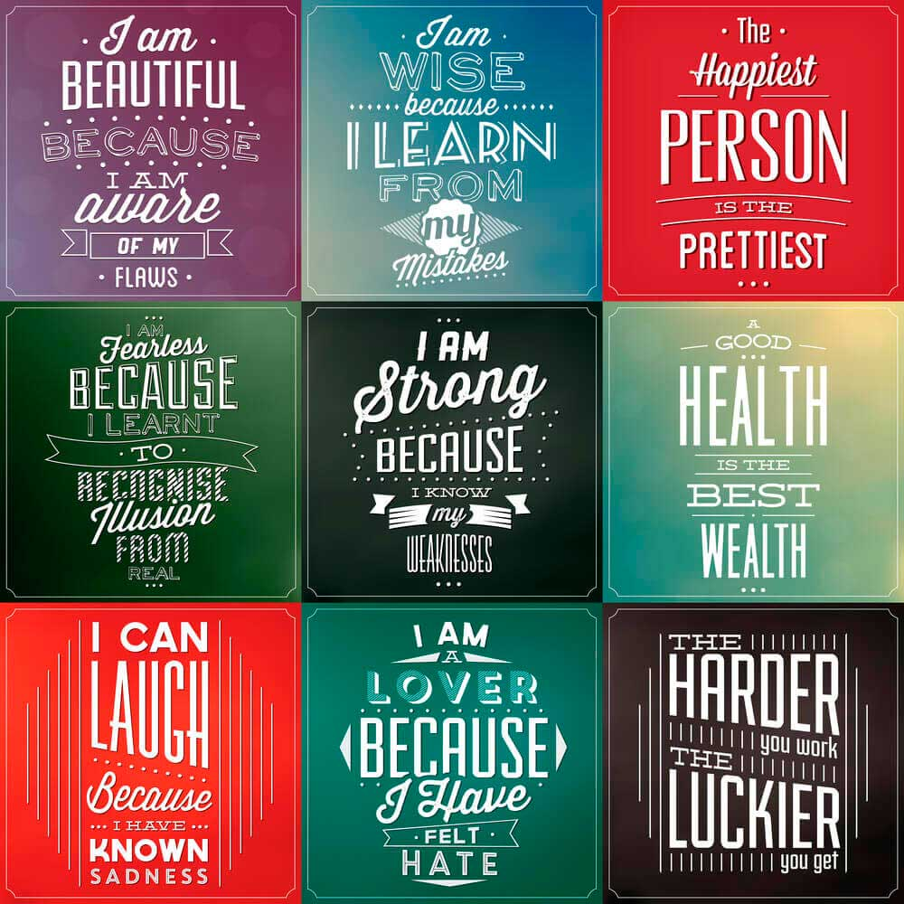 Motivational Quotes Poster.