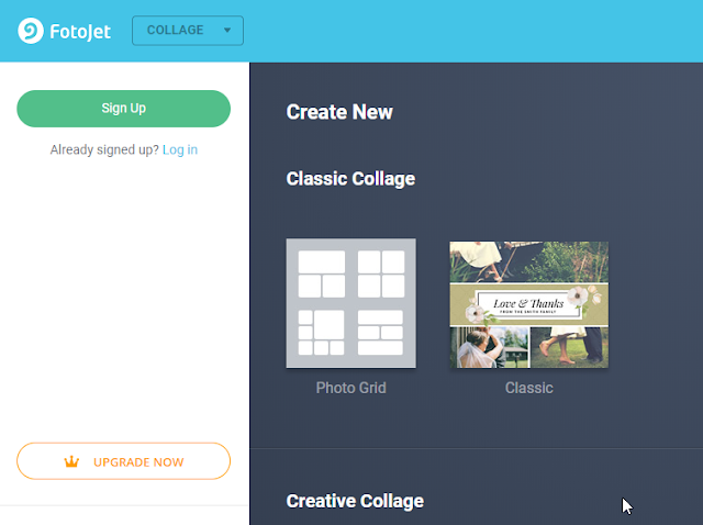 online photo collages maker