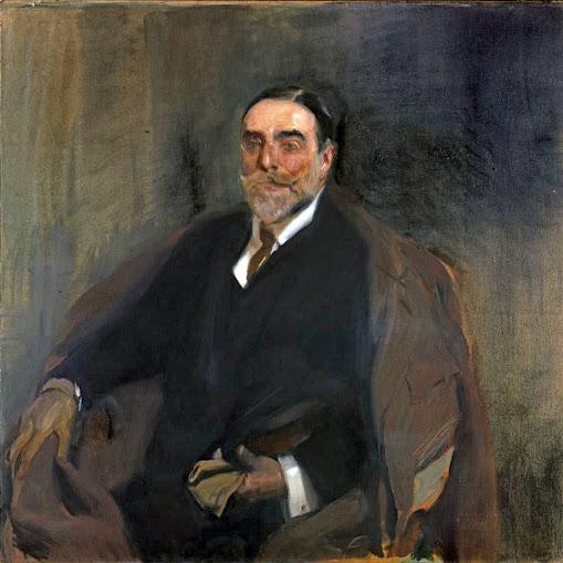 Retrato de Benigno de la Vega Inclán,  Benigno de la Vega Inclán,