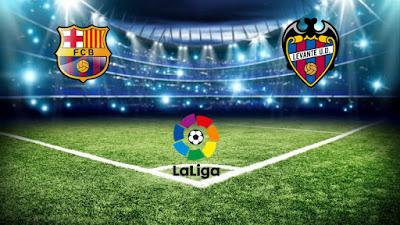 Ulasan Sepakbola La Liga Barcelona Versus Levante 07 Januari 2018