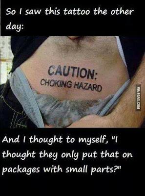 I saw this Tattoo...