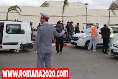 أخبار المغرب الأمن الوطني والدرك الملكي يتدخلان للتقليل من تنقلات المغاربة احتياطا من فيروس كورونا المستجد covid-19 corona virus