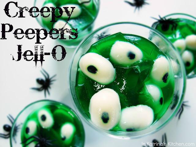Creepy Peepers Halloween Jell-O @katrinaskitchen