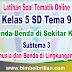 Soal Tematik Online Kelas 5 SD Tema 9 Subtema 3 Manusia dan Benda di Lingkungannya Langsung Ada Nilainya