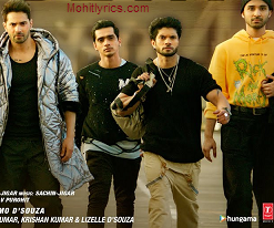 Gann Deva lyrics – Street Dancer 3D