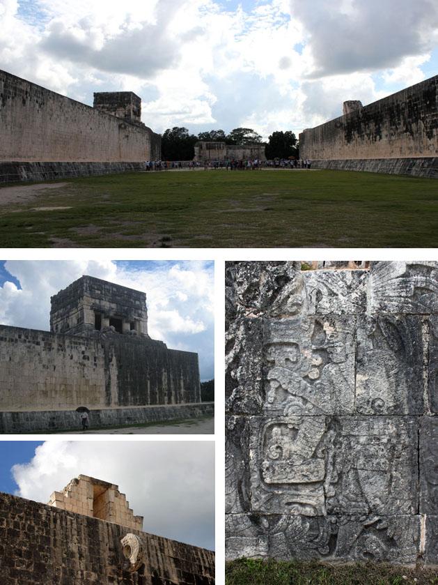 Gran Juego de Pelota, en Chichén Itzá