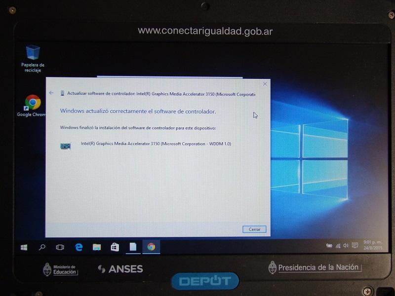 drivers netbook del gobierno positivo bgh windows 7