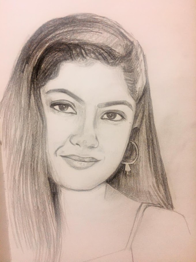 Portrait of a Beautiful woman in 20 minutes