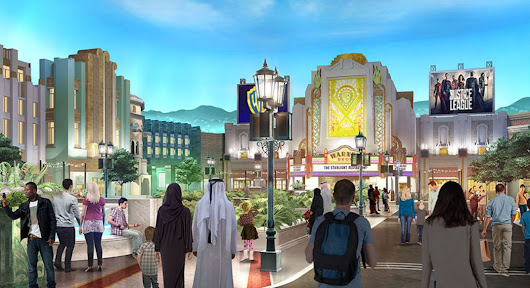#Revealed: first look of #WarnerBros theme park in #AbuDhabi