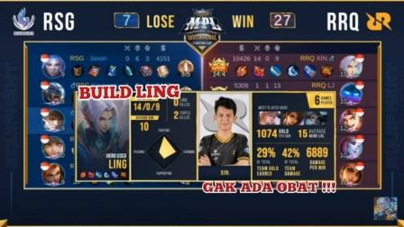 Build ling RRQ Xin Tersakit
