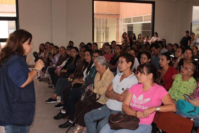 FRONTERA: Intamujer promueve charla y consulta sobre prevención del Cáncer de Mamas.