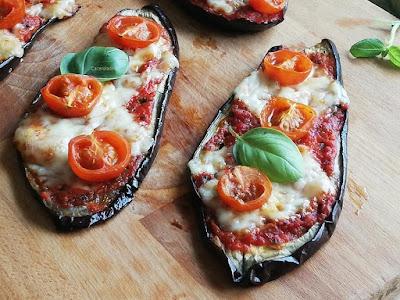 pizza de berenjenas