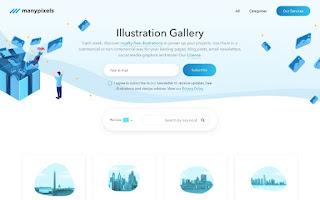 Galería de ilustraciones de ManyPixels
