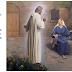 El nacimiento de Jesús: Gabriel y María