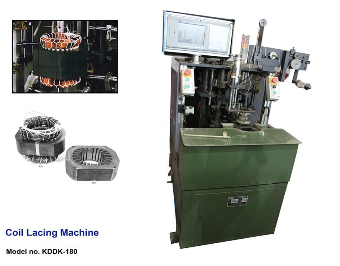 Coil lacing machine - DOUBLE SIDE image