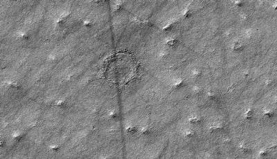 NASA Memotret Adanya Lingkaran Misterius di Mars