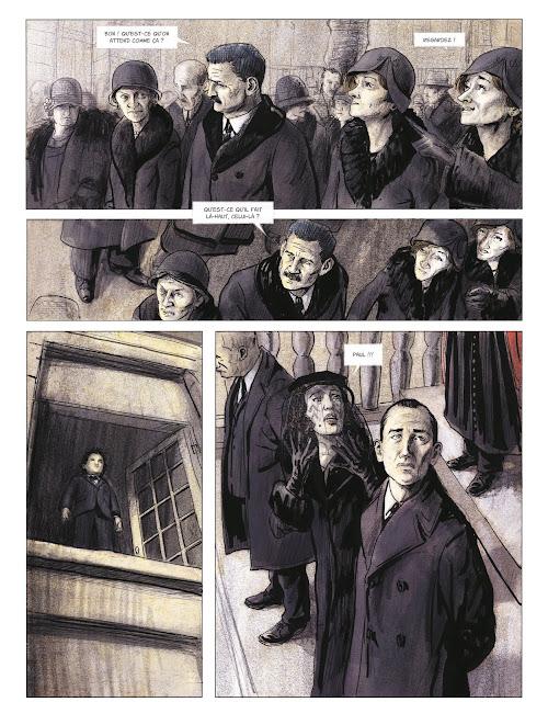 Couleurs de l'incendie de Pierre Lemaitre et Christian De Metter aux éditions Rue de Sèvres page 11