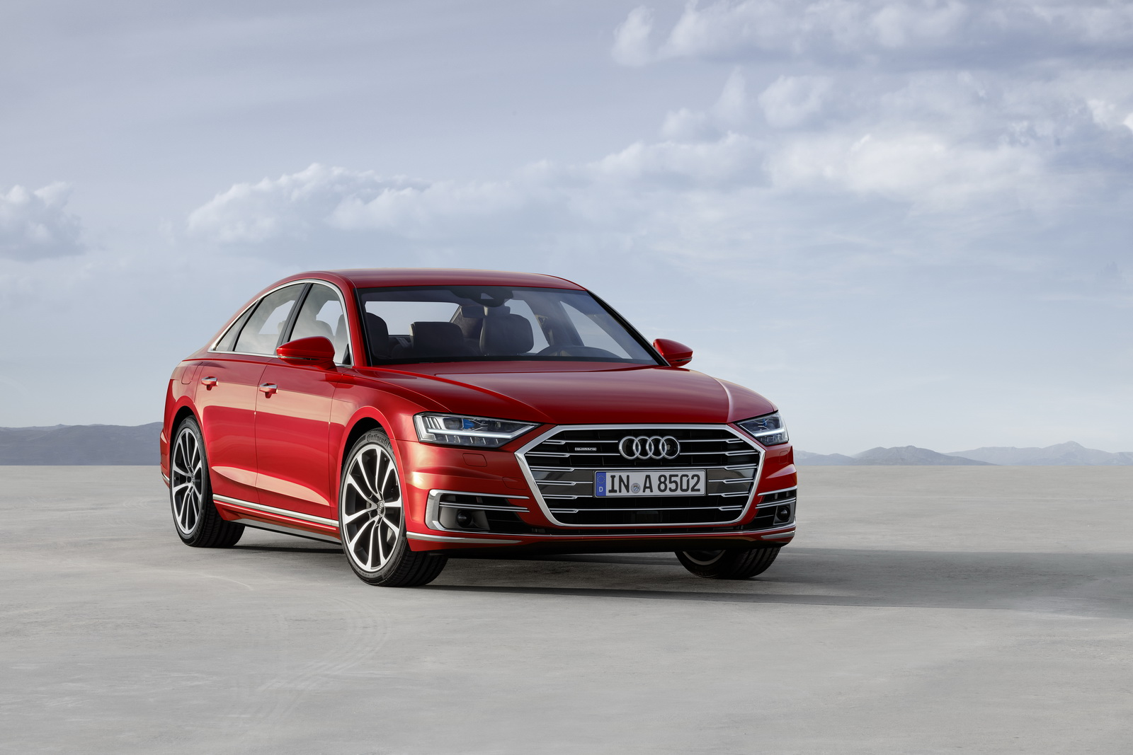 audi opens order books for new a8 prices start at 90 600 in germany. Black Bedroom Furniture Sets. Home Design Ideas