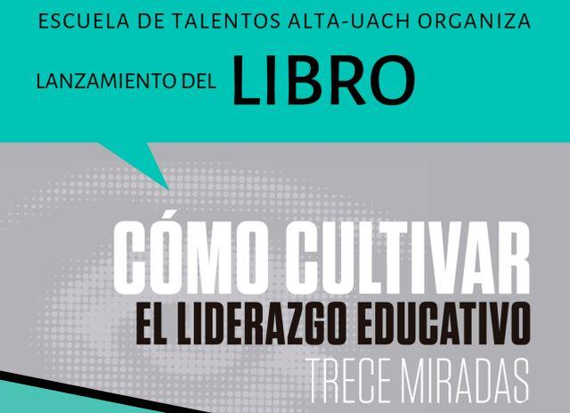 lanzamiento de libro sobre liderazgo educativo