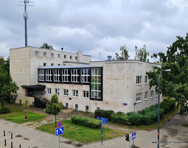 Dom Związku Harcerstwa Polskiego harcerze architektura architecture modernizm Warszawa Warsaw MDK Lazienkowska