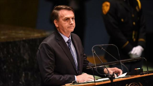 Bolsonaro: Amazonia no es el pulmón del mundo, eso es una falacia
