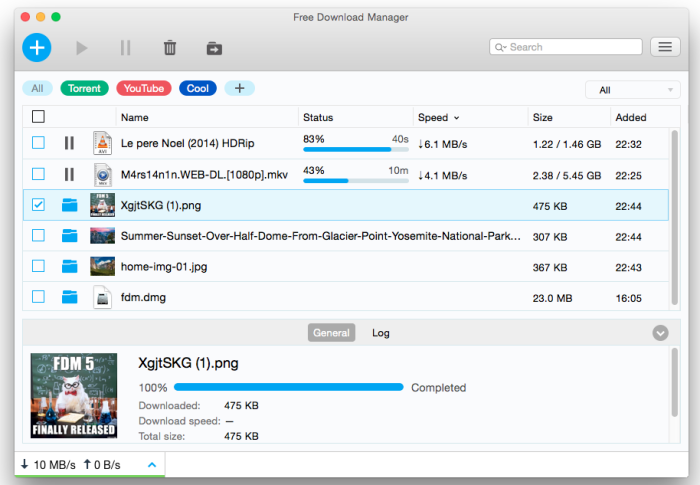 Download free download manager for mac 5. 1. 26 for mac free.