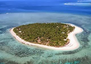 Tavarua-szigete Fijin