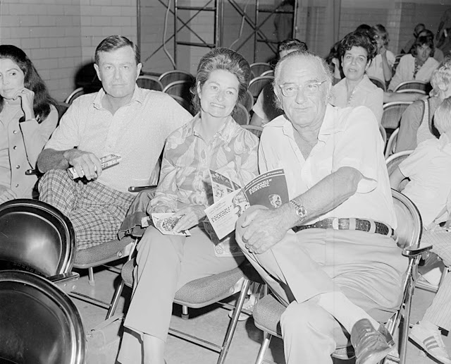 Lyndon Johnson, Lady Bird Johnson, Darrell Royal at Kerrville