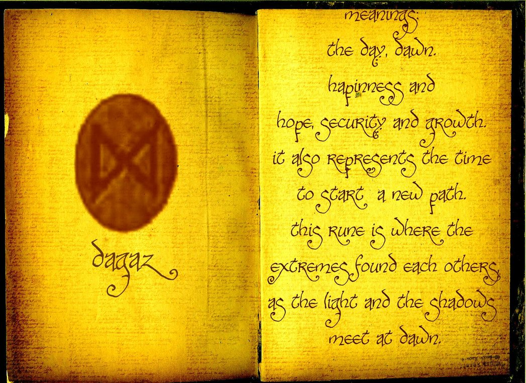 dagaz rune relationship poems