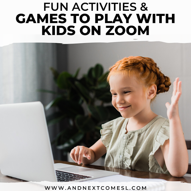 Fun zoom games for kids to play with friends and family