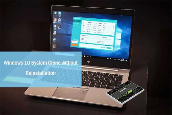 clone Windows system partition to SSD with CloneGo