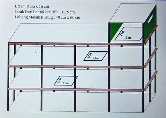 Kỹ thuật xây dựng nhà yến thông tầng lệch