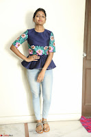 Eesha Looks super cute stunning in Denim Jeans and Top at Darsakudu movie Inerview ~  Exclusive 015.JPG