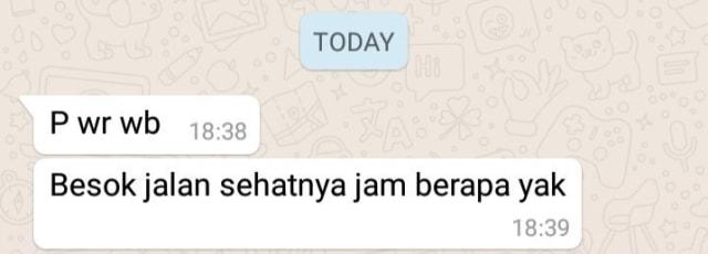 huruf p istilah dalam whatsapp