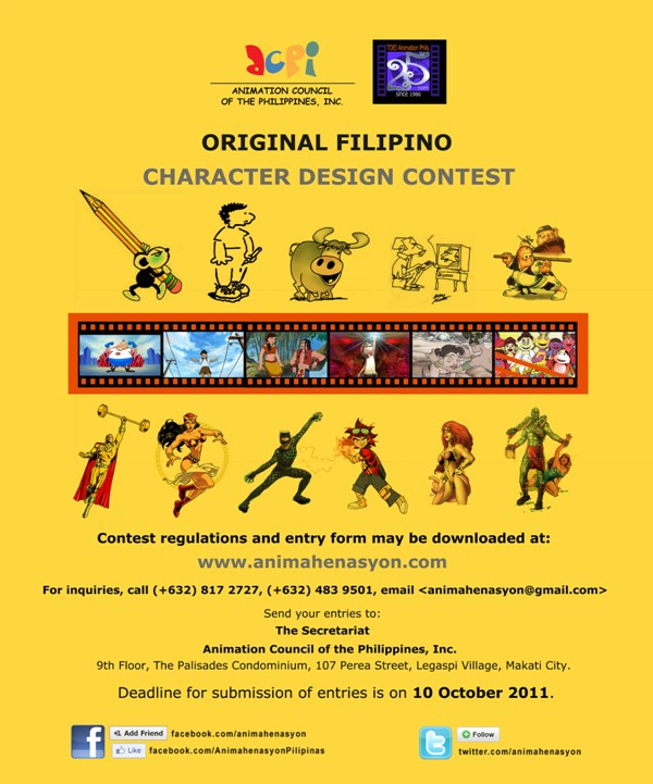 ACPI-TAP Original Filipino Character Design Contest