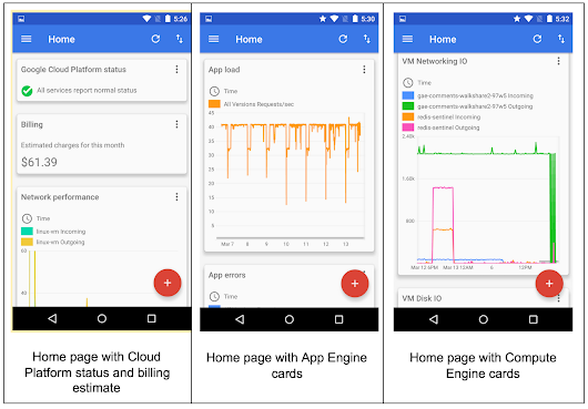 Manage Google Cloud Platform on the go with Cloud Console for Android