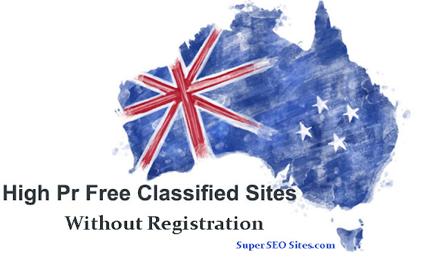 Top Classified Sites List in Australia Without Registration