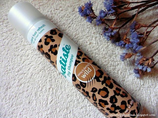 suchy szampon batiste, batiste-wild, batiste dry shampoo