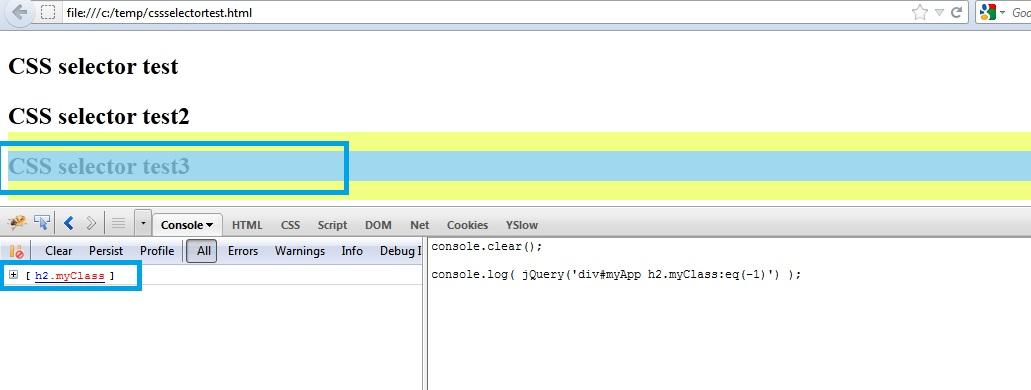 CSS Selectors Tutorial with FireBug - 推酷