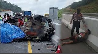 """Pulang """"Marhusip"""", Pasutri Jerri Simangunsong-Linda Tambunan dan Tiga Kerabatnya Tewas Kecelakaan"""