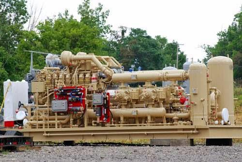 Natural Gas Compressor Station Process Flow Diagram